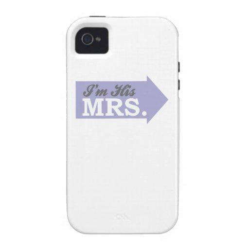 Soy su señora (la flecha púrpura violeta) vibe iPhone 4 carcasa