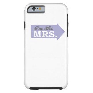 Soy su señora (la flecha púrpura violeta) funda para iPhone 6 tough