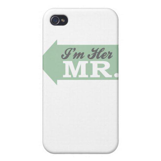 Soy su Sr. (la flecha verde) iPhone 4 Carcasa