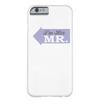 Soy su Sr. (la flecha violeta) Funda Para iPhone 6 Barely There