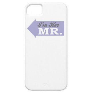 Soy su Sr. (la flecha violeta) iPhone 5 Funda