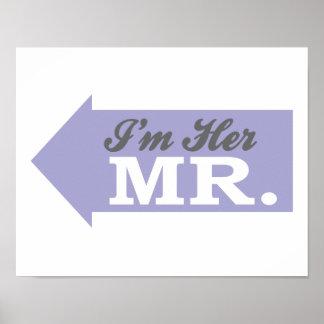 Soy su Sr. (la flecha violeta) Impresiones