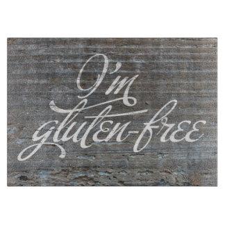 Soy tabla de cortar Gluten-Libre