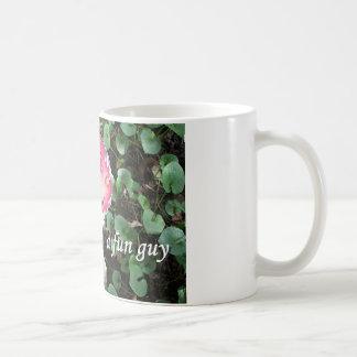 Soy tal individuo de la diversión (hongos, la seta taza de café