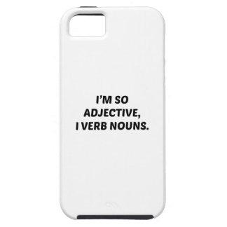 Soy tan adjetivo iPhone 5 carcasa