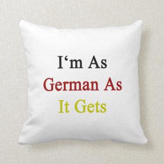 Soy tan alemán como consigue cojin