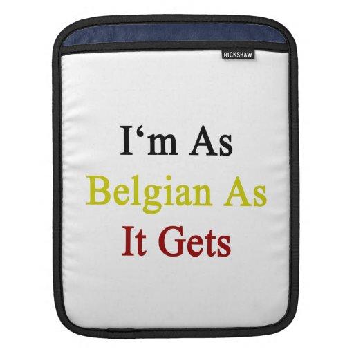 Soy tan belga como consigue mangas de iPad