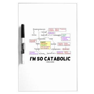 Soy tan catabólico (los aminoácidos de pizarras