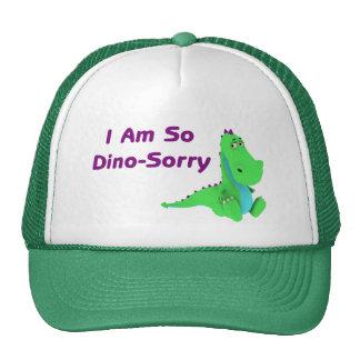 Soy tan dinosaurio triste de Dino Gorros Bordados