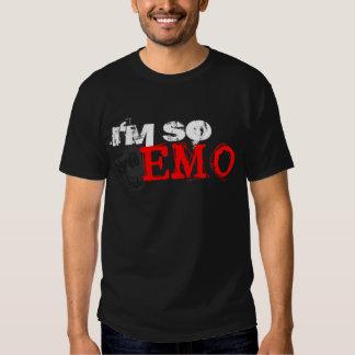Soy TAN EMO Remeras