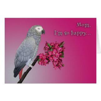 Soy tan feliz tarjeta de felicitación