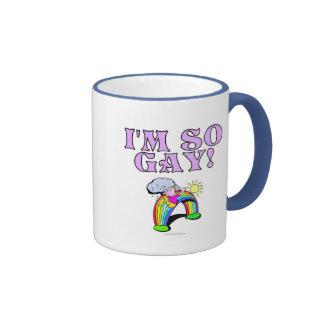 ¡Soy tan gay! Tazas De Café