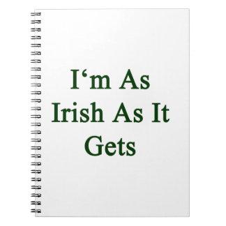 Soy tan irlandés como consigue notebook