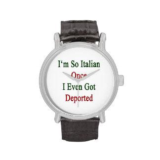 Soy tan italiano una vez que incluso conseguí depo