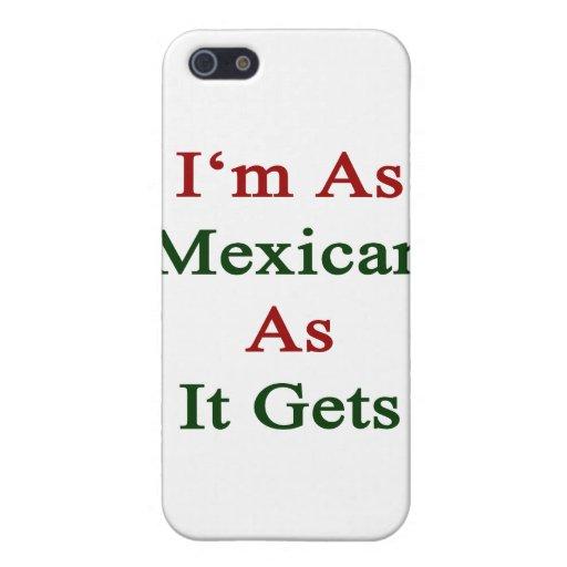 Soy tan mexicano como consigue iPhone 5 carcasas