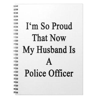 Soy tan orgulloso que ahora mi marido es una libro de apuntes con espiral