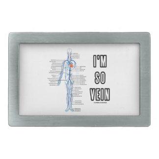 Soy tan vena (las venas de la anatomía del sistema hebillas cinturon rectangulares