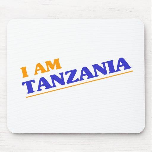 Soy Tanzania Alfombrilla De Ratones