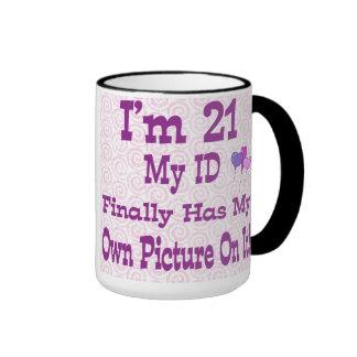 Soy taza de 21 identificaciones