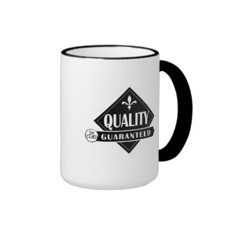 Soy taza de café de alta calidad cansada