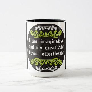 Soy taza de café de la imaginación