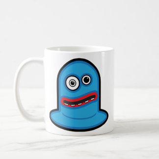 Soy taza de café del manojo del Weirdo del AZUL 4