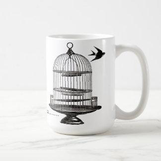 Soy taza del Birdcage del Victorian de Outta aquí