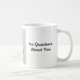 Soy taza del ganso de Quackers