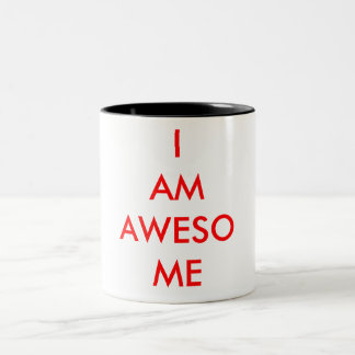 SOY taza IMPRESIONANTE del coffe