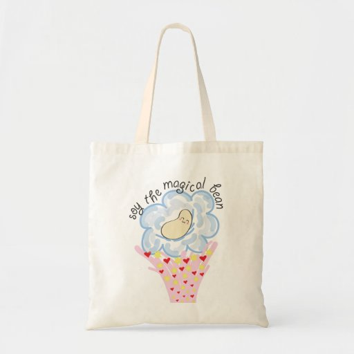 Soy the magical bean tote bag