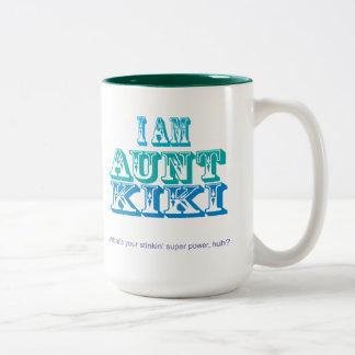 Soy tía Kiki Tazas De Café