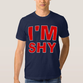 Soy tímido remera