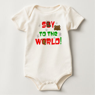 Soy to the World Baby Bodysuit