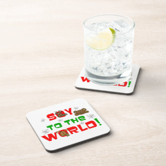 Soy to the World Beverage Coaster