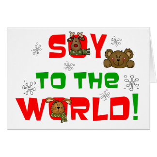 Soy to the World Cards