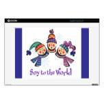 Soy to the World Choir Laptop Skin