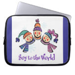 Soy to the World Choir Laptop Sleeve