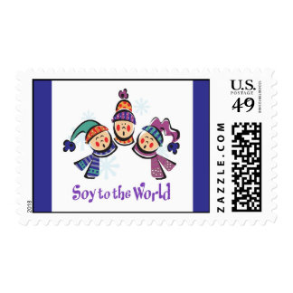 Soy to the World Choir Postage Stamps
