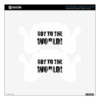 Soy To The World Decal For PS3 Controller