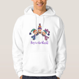 Soy to the World Holiday Hoodie