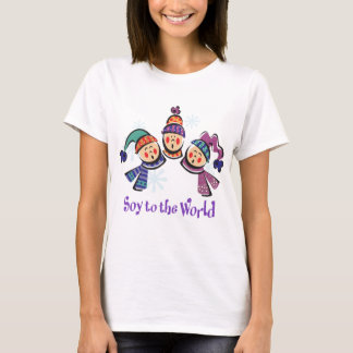 Soy to the World Holiday T-Shirt