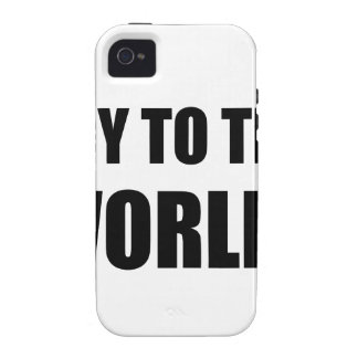 Soy To The World iPhone 4 Cover