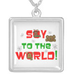 Soy to the World Personalized Necklace