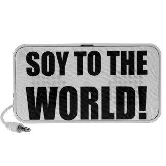 Soy To The World Portable Speaker