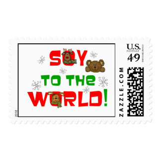 Soy to the World Stamps