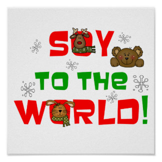 Soy to the World Poster