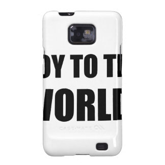 Soy To The World Samsung Galaxy S2 Cover