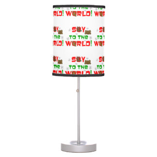 Soy to the World Table Lamp