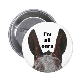 Soy toda la mula de los oídos pin