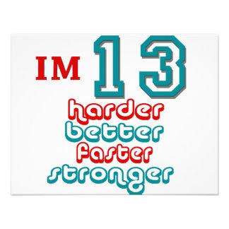 Soy trece ¡Mejore más difícilmente más rápidament Anuncio